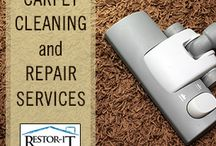 Carpet Cleaning And Repair Services / by Restor-It