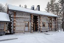 Lapland ski resort cabins