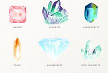 Crystal illustration