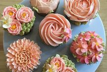 Cupcakes Floral