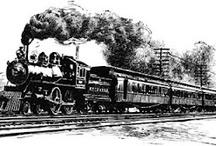 Trains & Old Locomotives