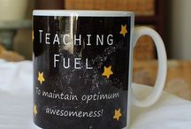 Teacher presents