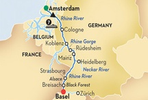 European River Cruise Destinations And Points Of Special Interest / by Kristine Britcher