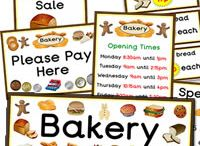 Bakery Topic / Cake Shop / Bakers Role Play – Teaching Ideas – Activities – Art & Crafts