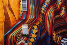 Colourful Textiles, Design & Art