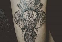 Tattoo Elefant