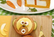 Presentation rigolote assiette enfants