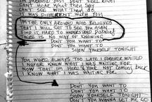 Lyrics by Mono Martian