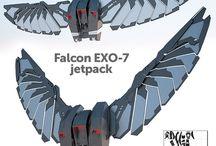Falcon for Patsy