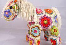 Crocheting: amigurumi