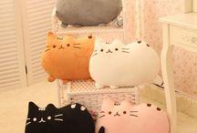 honeys cushions / my hobby