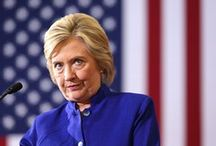 Debate 1: The Guardian- Clinton / Donald Trump threatens to jail Hillary Clinton in second presidential debate caption: Donald Trump lurks behind Hillary Clinton as she answers a question from the audience.