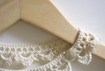 crochet - col, bijoux, noeuds, serre-tête