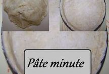 pâte minute