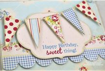 Cards - Birthday / by Sarah Foster : Iris May Designs