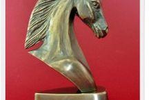 statuette - horse figurine Figurka konia / Handmade Poland statuette - horse figurine