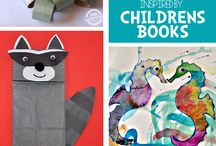 Books with Activities / Connect literacy and creativity with these books and companion activities.