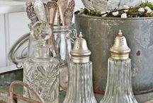 glass + silver