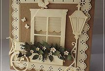tarjetas con ventanas