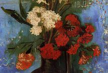 Vase with Carnations and Other Flowers, Vincent Van Gogh.