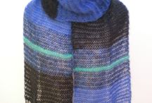 Blues / Beautiful knitwear inspiration and expression through the use of BLUE.