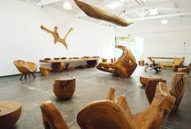 Showroom / Peças no showroom do Atelier Hugo França em São Paulo. | Hugo França's pieces at his showroom un São Paulo, Brazil.