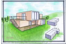 Container Drawings, Floor Plans / by Roger Dubois