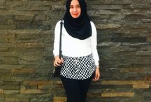 MY HIJAB LOOKLET / I know nothing about style, but i know what is making me comfortable