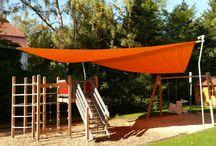 Sonnensegel / Schattensegel / Sonnenschutz durch Sonnensegel Motorisch ein- und ausfahrbar - daher bestens vor Wind und Wetter geschützt, wenn es nicht gebraucht wird.  Schatten im Garten Schattenoase #UrlaubimeigenenGarten Warema Soliday Corradi