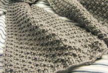 Knitting / Scarves, blankets, etc. / by Brenda Jowers