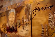 Art Nelson Mandela / Paintings by artist.