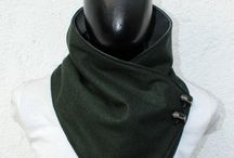 Bufandas con broches