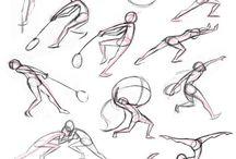 Human Move Poses