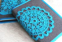 Crocheted Book Covers