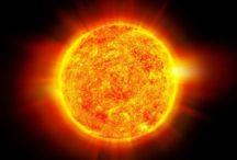 terra luna stelle sole