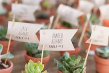 Escort card ideas ( Ιδεες για το πως θα καθισουν οι καλεσμενοι στο γαμο) / Unique and creative ideas for escort cards and alternative escort cards at your wedding reception