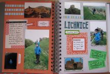 PUFFIN´s MODVILLE crushbook - Summer trips 2013 / The My CRUSH book - Modville - pages I´ve creted © Puffin / Happy mail ninja