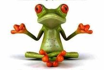 yoga cartoons