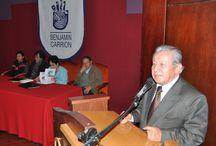Encuentro de Poetas de Ecuador y Perú / Durante una semana, del 27 al 31 de enero, escritores y poetas de Ecuador y Perú, participaron en el encuentro literario VANGUARDIA ANDINA, POESÍA ECUATORIANA, evento organizado por la Sociedad Ecuatoriana de Escritores (SEDE), Talleres Literarios Letrabilis y K-Oz Editorial.