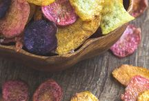 Healthy Crisps / Examples of health foods in the market
