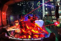 Justice League: Battle For Metropolis / News about Sally Corporation's action-packed interactive dark ride, Justice League: Battle For Metropolis, now at both Six Flags Over Texas and Six Flags St. Louis.    Designed and built by Sally Corporation and created in partnership with Six Flags, Warner Bros. Consumer Products and DC Entertainment, this thrilling new attraction bring the world's most famous super heroes to life!