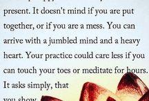 My yoga Practice.