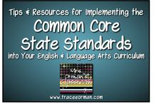 ELA Common Core Resources / A collaborative board for MHS English teachers focused on implementing Common Core in the high school English classroom / by Lee Ann Perry