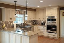 Kitchen redo ideas... Move stove and dishwasher / by Alicia Snarr
