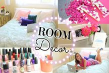 DIY Room Decor / Do it yourself home decorating ideas and diy decorating projects for decorating on a budget!