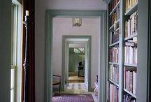 Bibliothèque enfilade