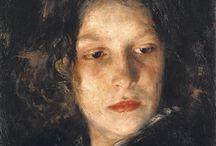 női portré / modern arckép