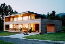 Wooden Houses in Countryside for Relaxing Life