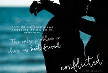 Conflicted by Ruby Black / I thought our friendship could survive anything.   Add to Goodreads: https://www.goodreads.com/book/show/29743045-conflicted