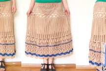 My crochet clothes and accesories / Scarfs, shawls, skirts and so on